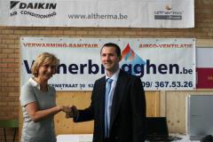 Klimaatbeurs Wetteren: bezoek minister Crevits