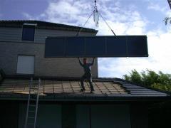 Plaatsen van een zonnepaneel op maat