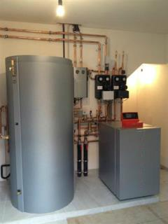 Nog een mooie warmtepomp-installatie te Westrem